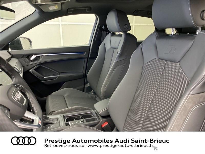 Audi Q3 35 TFSI 150 CH S TRONIC 7 Noir occasion à Saint-Brieuc - photo n°7