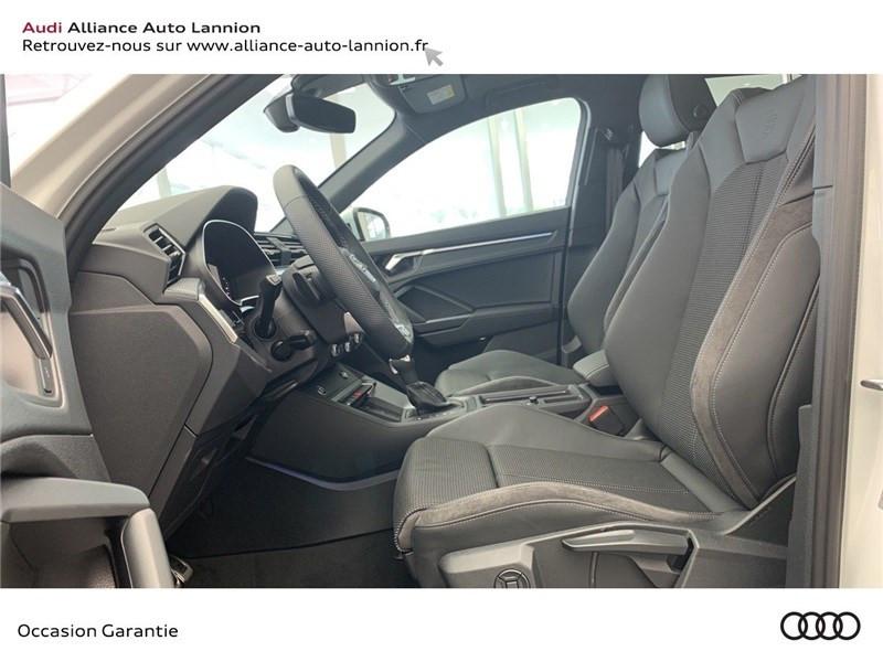 Audi Q3 35 TFSI 150 CH S TRONIC 7 Blanc occasion à Saint-Brieuc - photo n°10