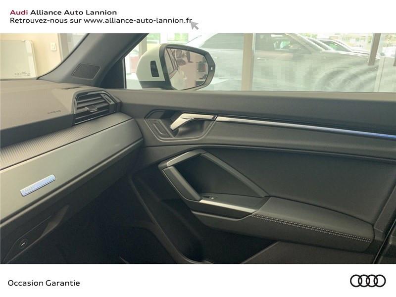 Audi Q3 35 TFSI 150 CH S TRONIC 7 Blanc occasion à Saint-Brieuc - photo n°12