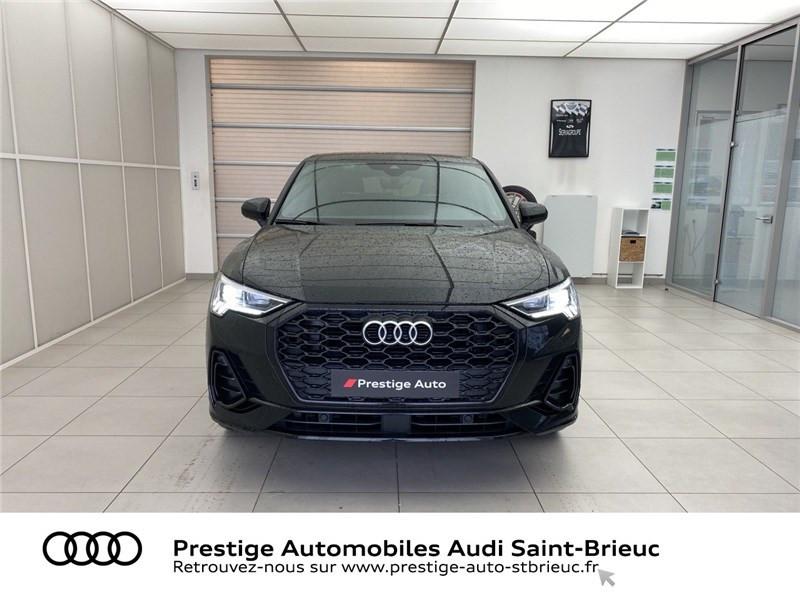 Audi Q3 35 TFSI 150 CH S TRONIC 7 Noir occasion à Saint-Brieuc - photo n°2