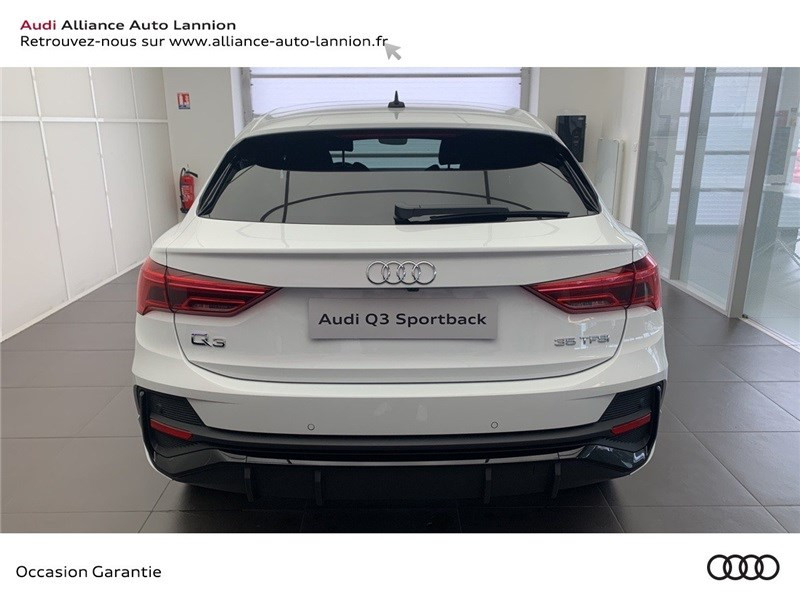 Audi Q3 35 TFSI 150 CH S TRONIC 7 Blanc occasion à Saint-Brieuc - photo n°5