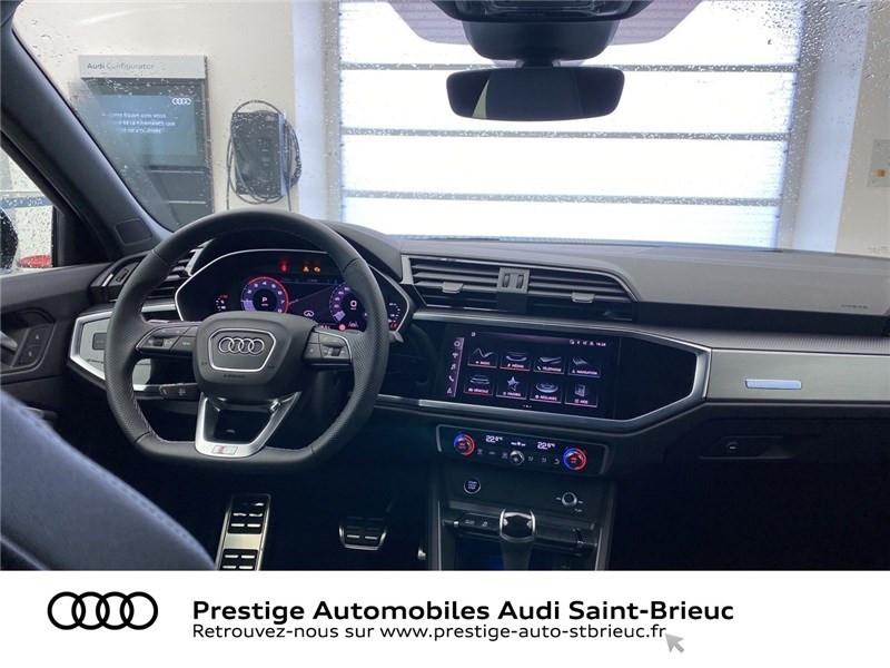 Audi Q3 35 TFSI 150 CH S TRONIC 7 Noir occasion à Saint-Brieuc - photo n°6