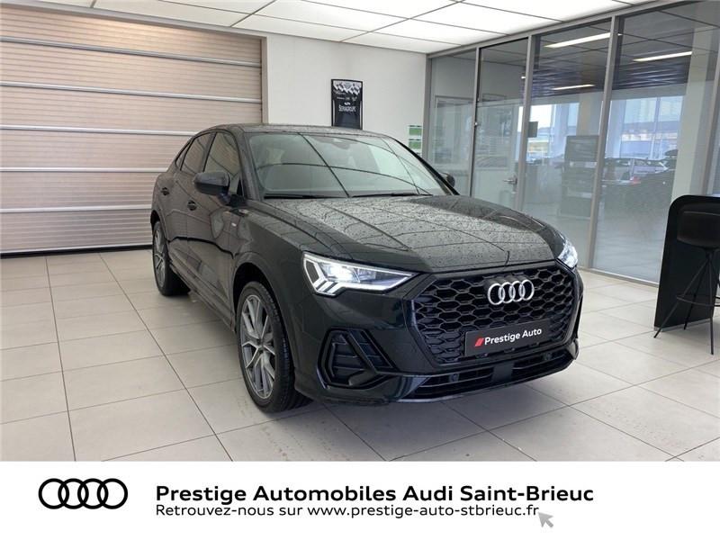 Audi Q3 35 TFSI 150 CH S TRONIC 7 Noir occasion à Saint-Brieuc - photo n°3