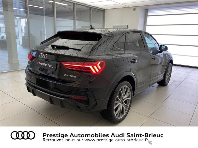 Audi Q3 35 TFSI 150 CH S TRONIC 7 Noir occasion à Saint-Brieuc - photo n°5