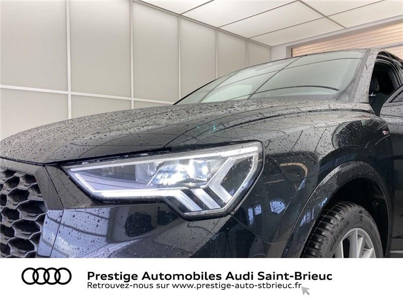Audi Q3 35 TFSI 150 CH S TRONIC 7 Noir occasion à Saint-Brieuc - photo n°9