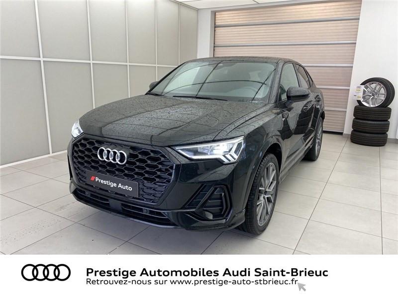 Audi Q3 35 TFSI 150 CH S TRONIC 7 Noir occasion à Saint-Brieuc