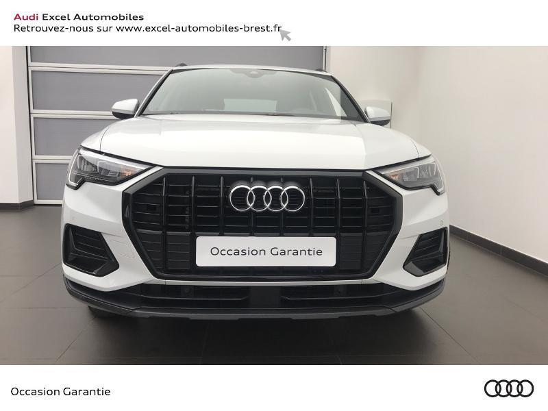 Audi Q3 35 TFSI 150ch Design S tronic 7 Blanc occasion à Brest - photo n°2
