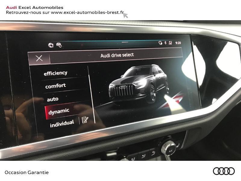 Audi Q3 35 TFSI 150ch Design S tronic 7 Blanc occasion à Brest - photo n°14