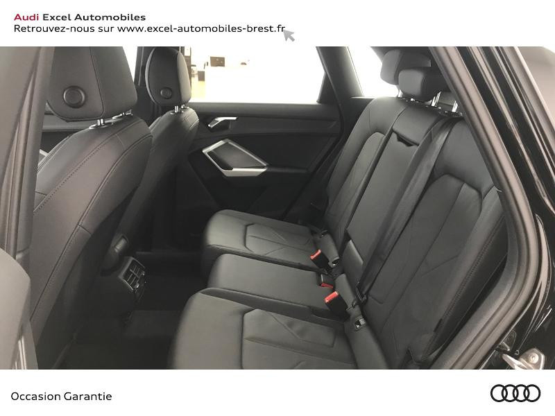 Audi Q3 35 TFSI 150ch Design S tronic 7 Noir occasion à Brest - photo n°8