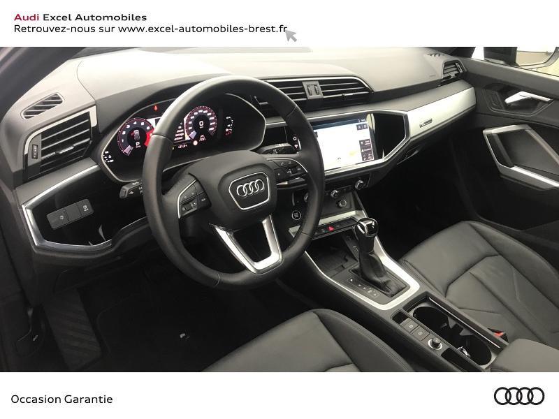 Audi Q3 35 TFSI 150ch Design S tronic 7 Noir occasion à Brest - photo n°6