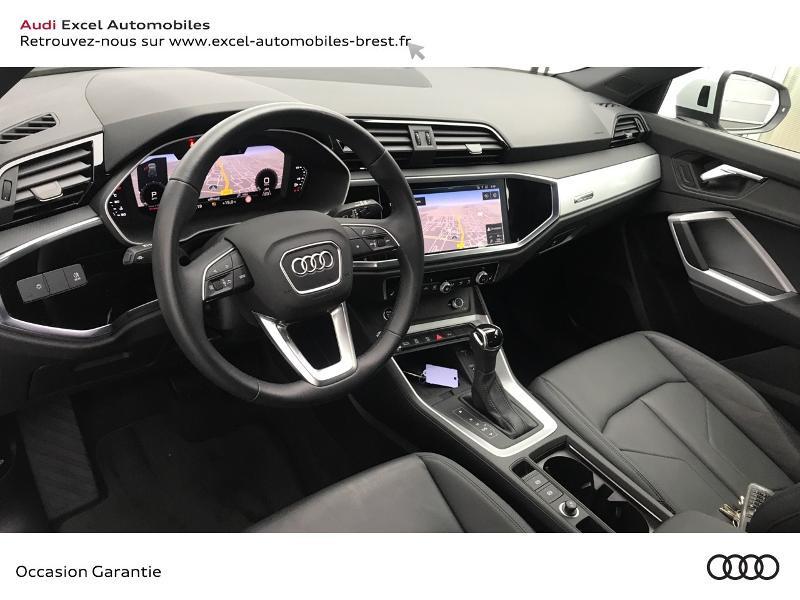 Audi Q3 35 TFSI 150ch Design S tronic 7 Blanc occasion à Brest - photo n°6