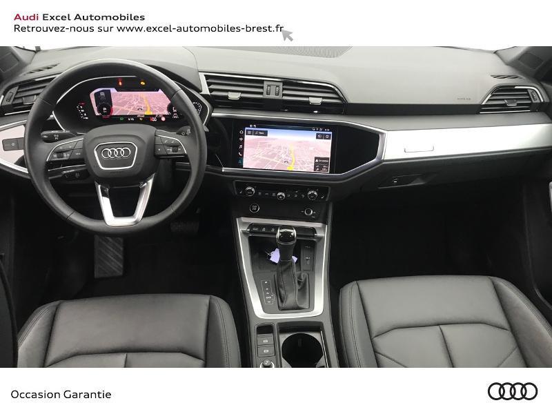 Audi Q3 35 TFSI 150ch Design S tronic 7 Blanc occasion à Brest - photo n°7