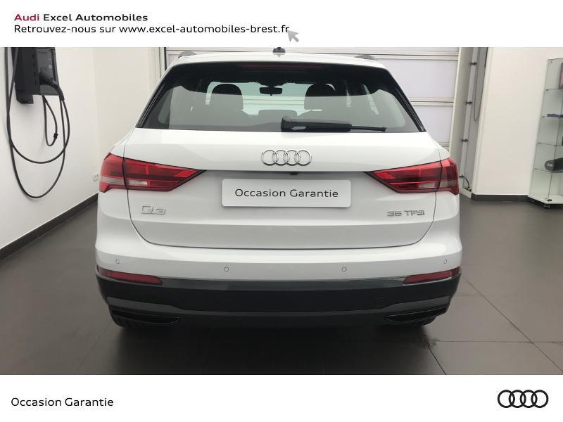 Audi Q3 35 TFSI 150ch Design S tronic 7 Blanc occasion à Brest - photo n°5