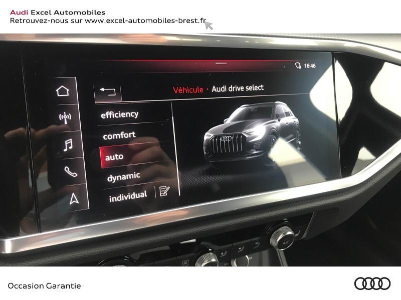 Audi Q3 35 TFSI 150ch Design S tronic 7 Noir occasion à Brest - photo n°14