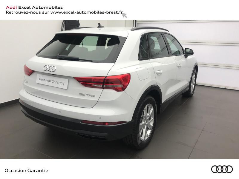 Audi Q3 35 TFSI 150ch Design S tronic 7 Blanc occasion à Brest - photo n°4