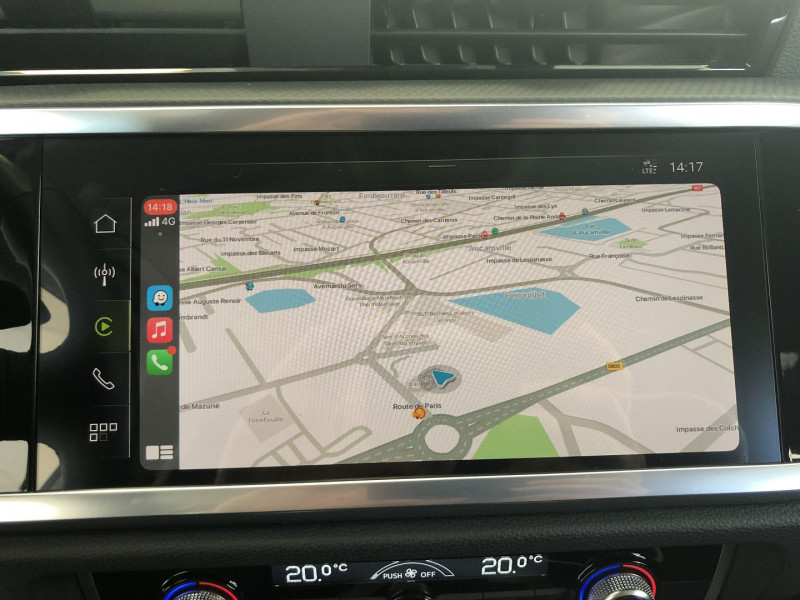 Audi Q3 35 TFSI 150CH DESIGN Blanc occasion à FENOUILLET - photo n°12