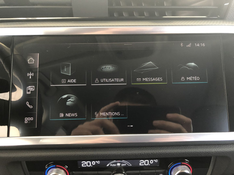 Audi Q3 35 TFSI 150CH DESIGN Blanc occasion à FENOUILLET - photo n°7
