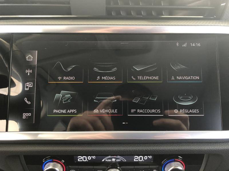 Audi Q3 35 TFSI 150CH DESIGN Blanc occasion à FENOUILLET - photo n°6