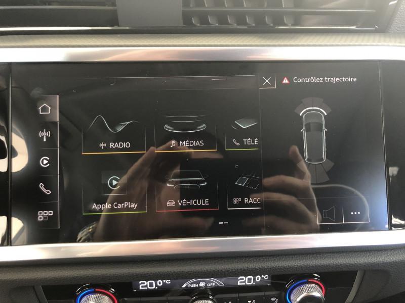 Audi Q3 35 TFSI 150CH DESIGN Blanc occasion à FENOUILLET - photo n°13