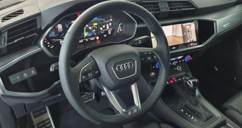 Audi Q3 35 TFSI 150ch S line S Tronic 7 Noir occasion à Paris - photo n°5