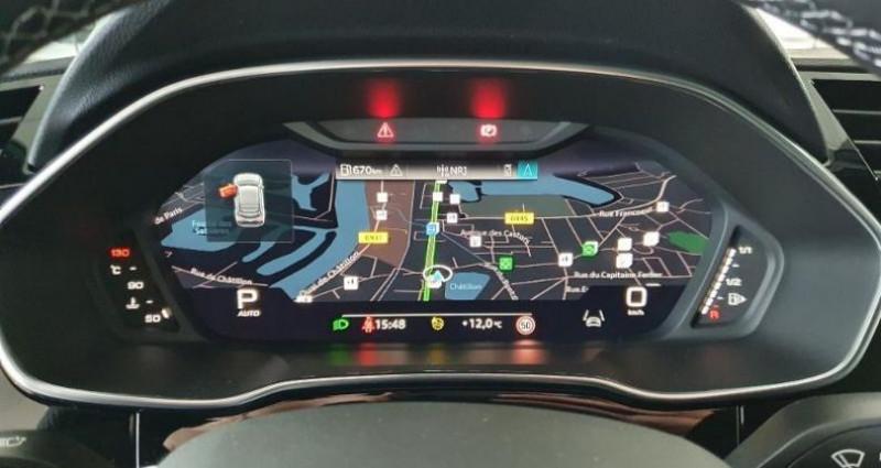 Audi Q3 35 TFSI 150ch S line S Tronic 7 Noir occasion à Paris - photo n°6