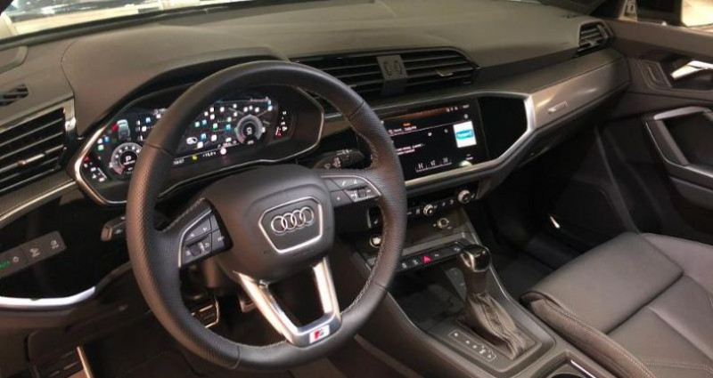 Audi Q3 35 TFSI 150ch S line S Tronic 7 Noir occasion à Chambourcy - photo n°4