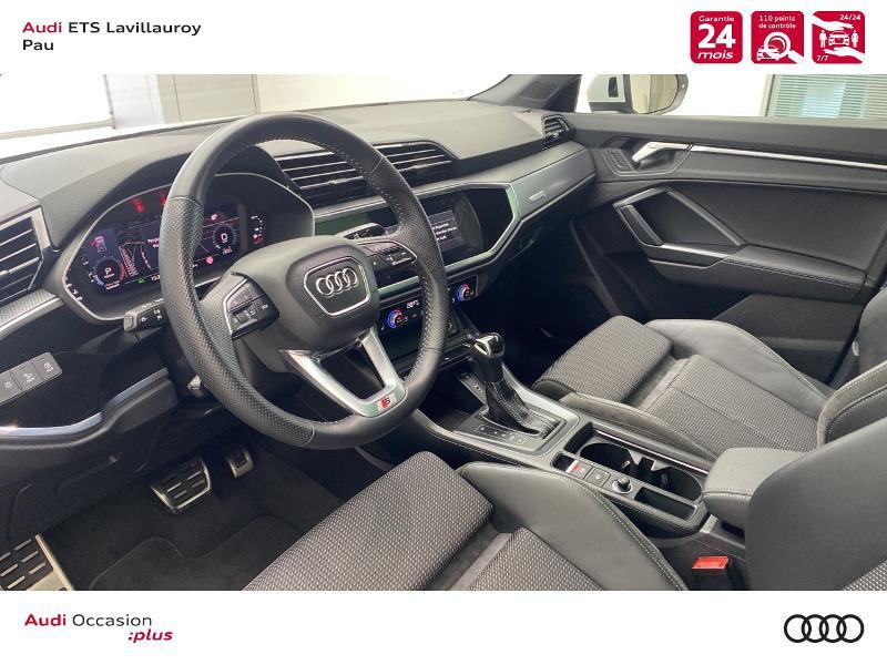 Audi Q3 35 TFSI 150ch S line S tronic 7 Blanc occasion à Lescar - photo n°12