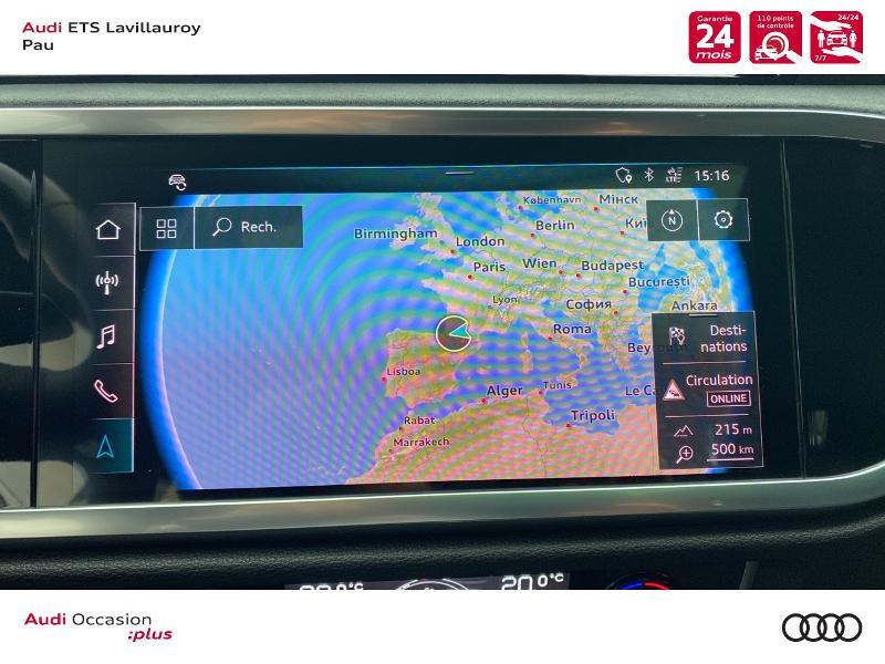 Audi Q3 35 TFSI 150ch S line S tronic 7 Blanc occasion à Lescar - photo n°15