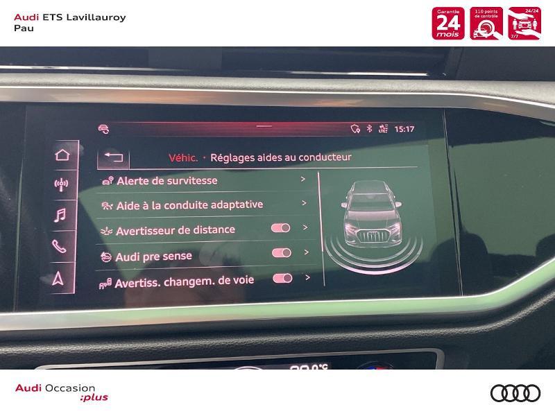 Audi Q3 35 TFSI 150ch S line S tronic 7 Blanc occasion à Lescar - photo n°19