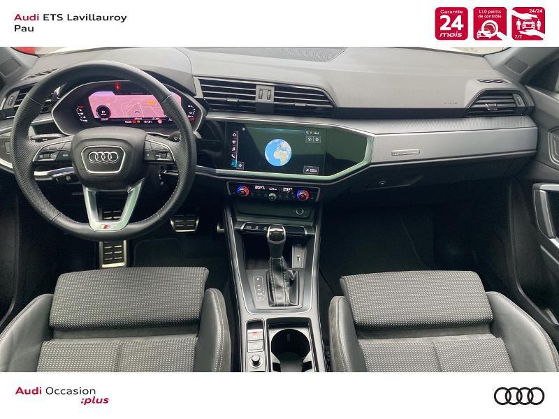 Audi Q3 35 TFSI 150ch S line S tronic 7 Blanc occasion à Lescar - photo n°6