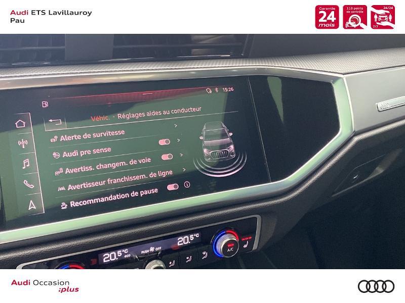 Audi Q3 35 TFSI 150ch S line S tronic 7 Blanc occasion à Lescar - photo n°16