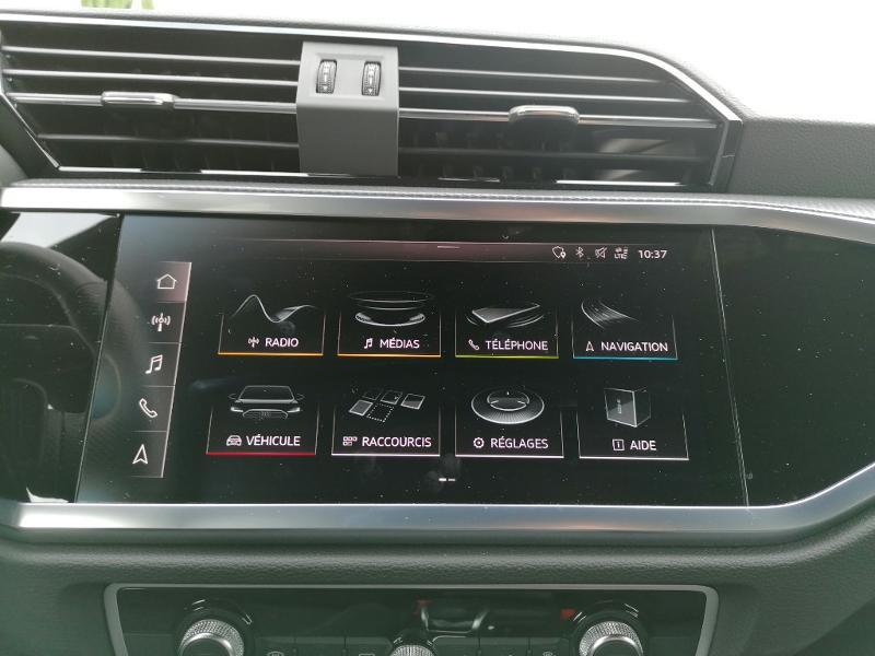 Audi Q3 35 TFSI 150ch S line S tronic 7 Blanc occasion à Fleury-les-Aubrais - photo n°8