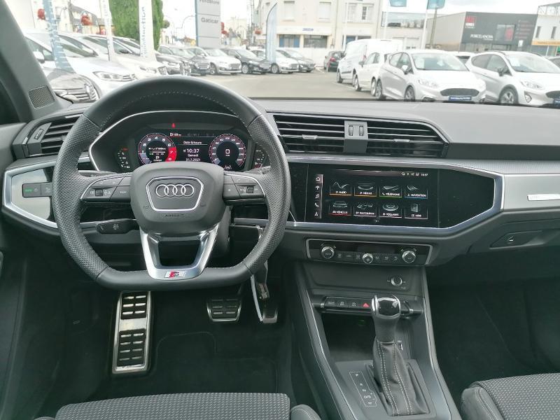 Audi Q3 35 TFSI 150ch S line S tronic 7 Blanc occasion à Fleury-les-Aubrais - photo n°7