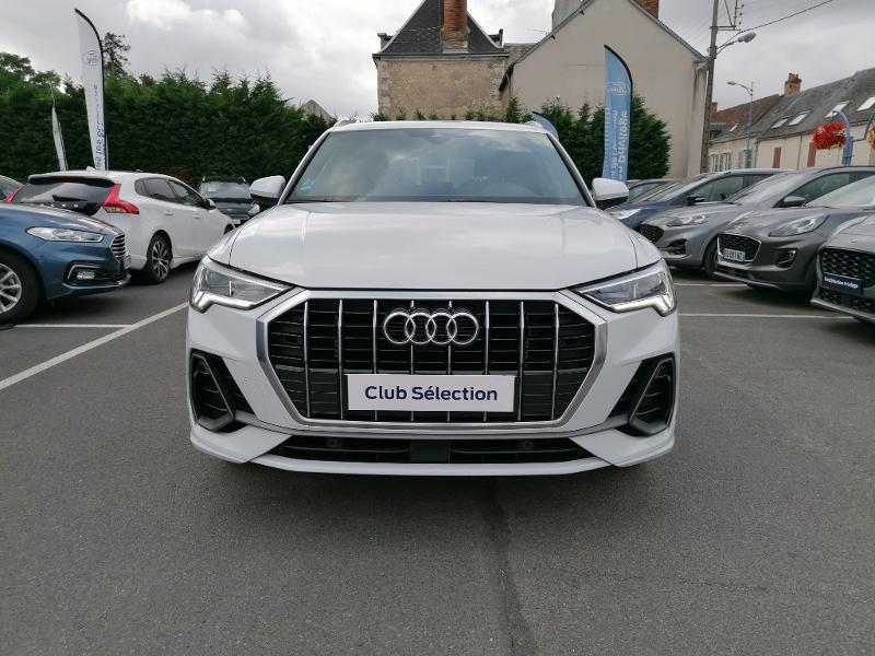 Audi Q3 35 TFSI 150ch S line S tronic 7 Blanc occasion à Fleury-les-Aubrais - photo n°2