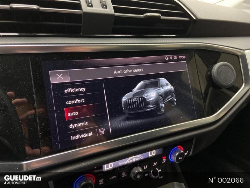Audi Q3 35 TFSI 150ch Noir occasion à Brie-Comte-Robert - photo n°14