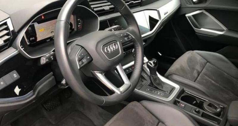 Audi Q3 40 TDI 190 ch S tronic 7 Quattro Design Gris occasion à Lons Le Saunier - photo n°3