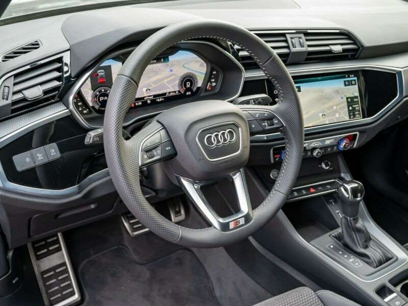 Audi Q3 40 TDI 190CH S LINE QUATTRO S TRONIC 7 Gris occasion à Villenave-d'Ornon - photo n°9
