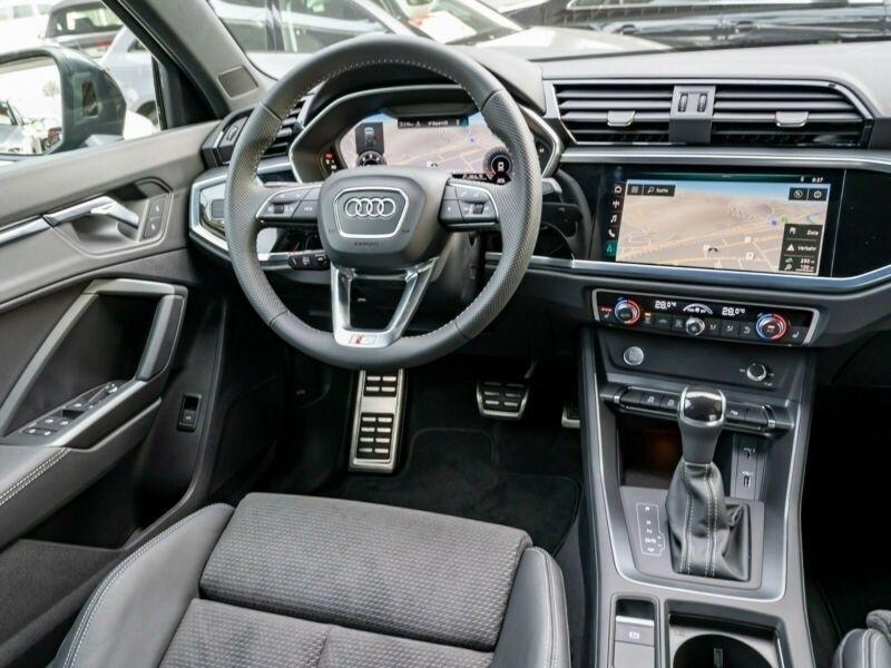 Audi Q3 40 TDI 190CH S LINE QUATTRO S TRONIC 7 Gris occasion à Villenave-d'Ornon - photo n°4