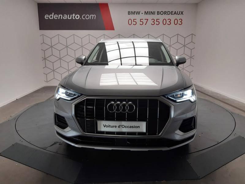 Audi Q3 40 TFSI 190 ch S tronic 7 Quattro Design Luxe Gris occasion à Lormont - photo n°2