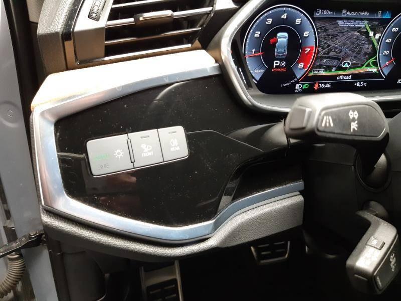 Audi Q3 40 TFSI 190 ch S tronic 7 Quattro Design Luxe Gris occasion à Lormont - photo n°15