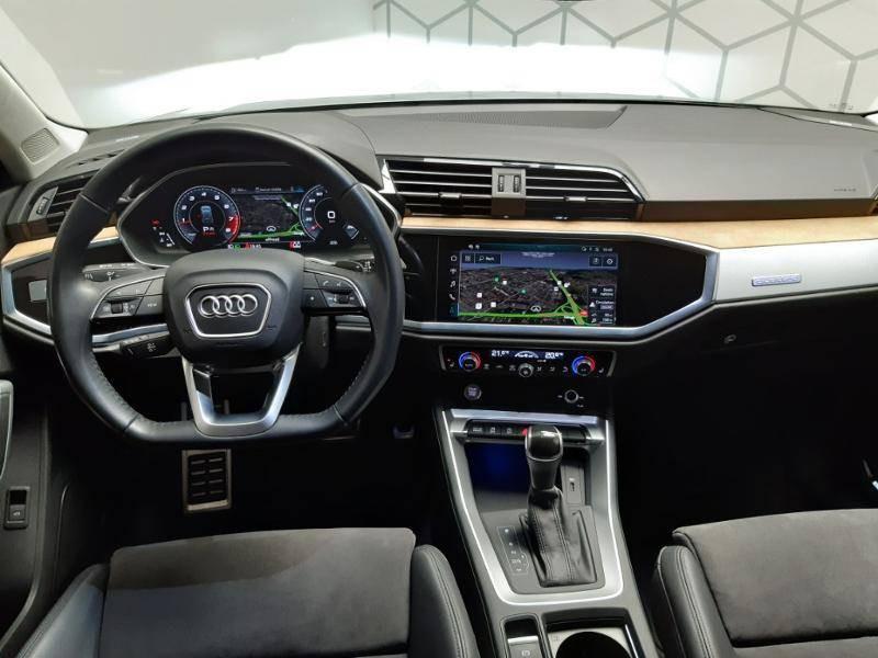 Audi Q3 40 TFSI 190 ch S tronic 7 Quattro Design Luxe Gris occasion à Lormont - photo n°13