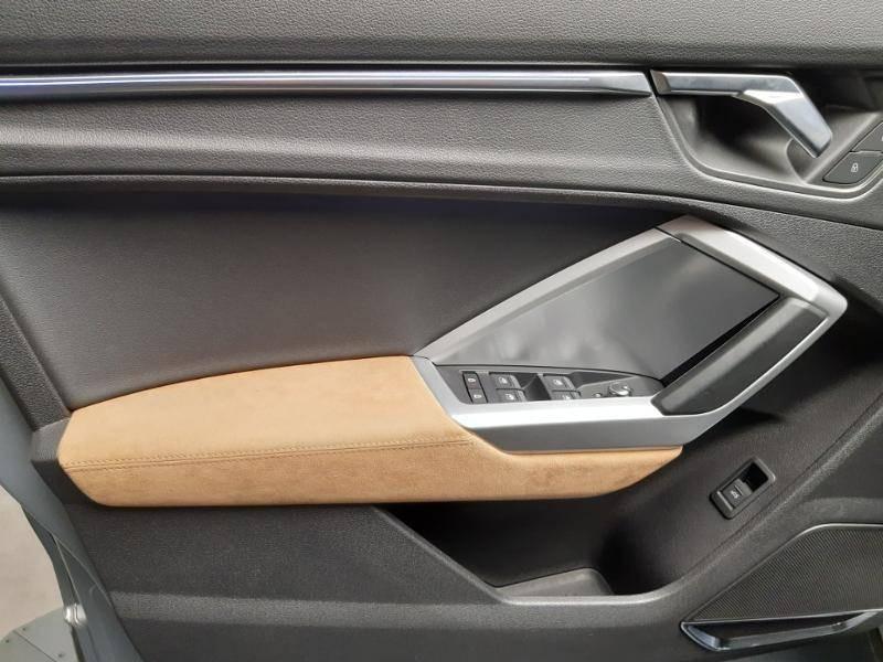Audi Q3 40 TFSI 190 ch S tronic 7 Quattro Design Luxe Gris occasion à Lormont - photo n°14