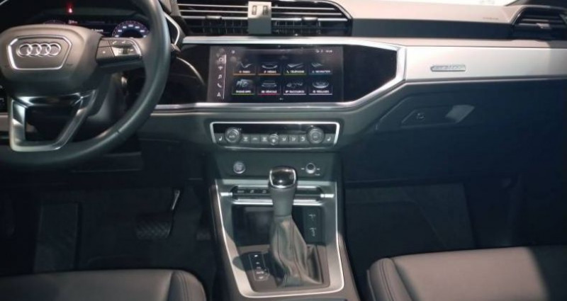 Audi Q3 45 TFSI 230 ch S tronic 7 Quattro Design Luxe Noir occasion à Chenove - photo n°6