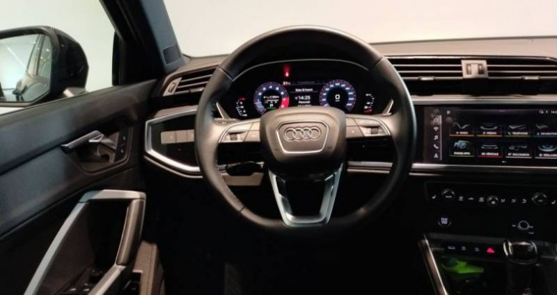 Audi Q3 45 TFSI 230 ch S tronic 7 Quattro Design Luxe Noir occasion à Chenove - photo n°5