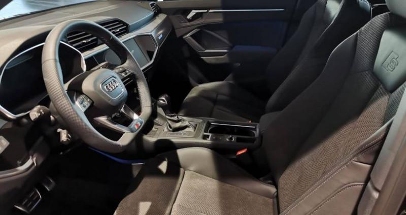 Audi Q3 45 TFSIe 245 ch S tronic 6 S line Noir occasion à Saint-Ouen - photo n°6