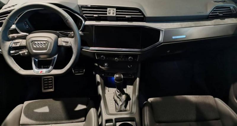 Audi Q3 45 TFSIe 245 ch S tronic 6 S line Noir occasion à Saint-Ouen - photo n°4