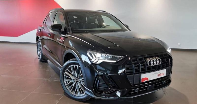 Audi Q3 45 TFSIe 245 ch S tronic 6 S line Noir occasion à Saint-Ouen