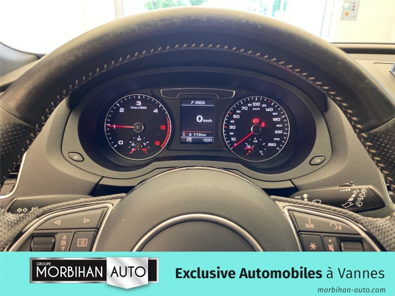 Audi Q3 Q3 2.0 TDI 120 ch  occasion à Vannes - photo n°8