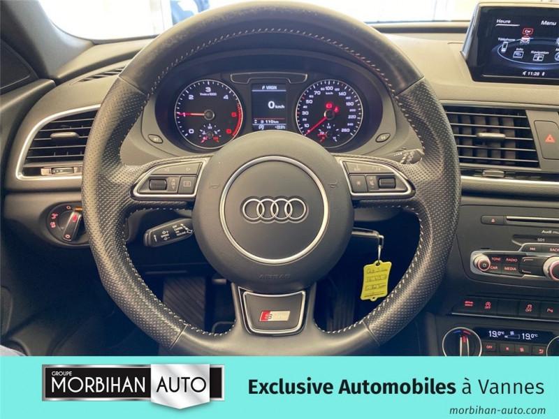 Audi Q3 Q3 2.0 TDI 120 ch  occasion à Vannes - photo n°7