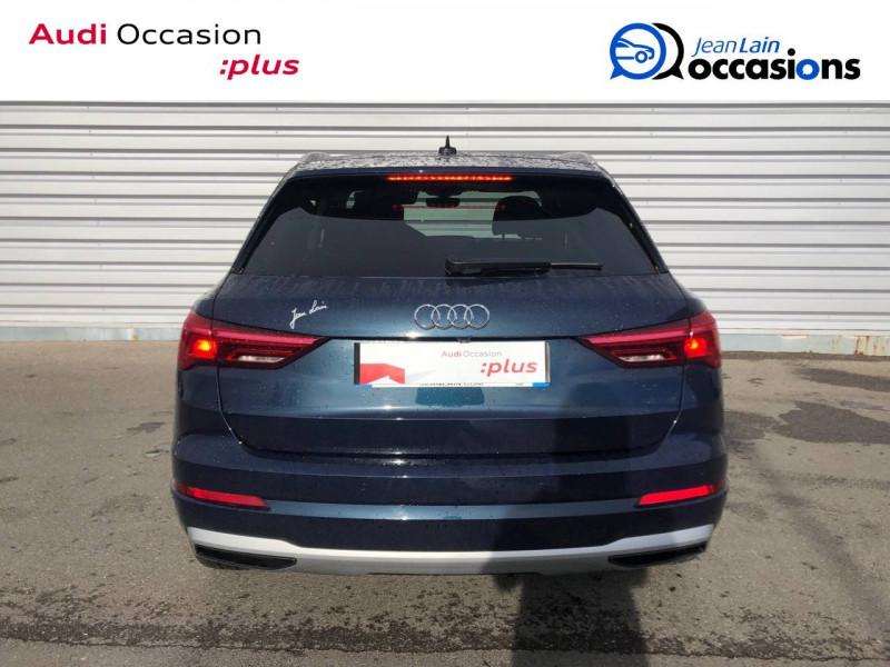 Audi Q3 Q3 35 TDI 150 ch S tronic 7 Design Luxe 5p Bleu occasion à Annemasse - photo n°6